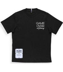 mcq alexander mcqueen eden high: cotton t-shirt