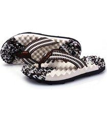 zapatillas de hombre sandalias de masaje - marrón