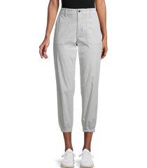 joe's jeans women's utility joggers - cool grey - size 25 (2)
