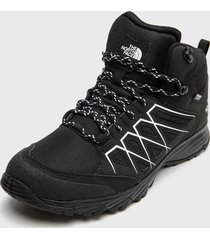 zapatilla outdoor m venture fasthike mid wp negro the north face