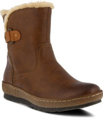 women's spring step milagra water resistant bootie, size 5.5-6us - brown