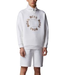 boss men's salboa high-neck sweatshirt