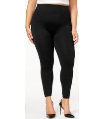 spanx women's plus size look at me now tummy control leggings