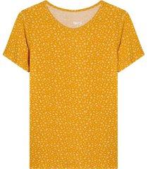 camiseta estampado mini print flores