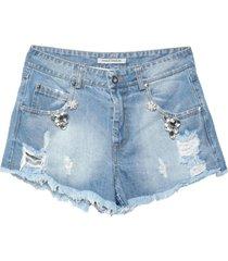 paolo casalini denim shorts