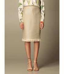 boutique moschino skirt moschino boutique pencil skirt in mat
