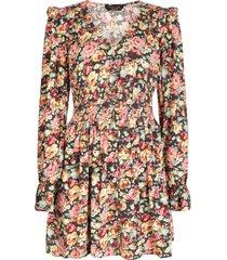 colourful rebel jurk multicolor 8283