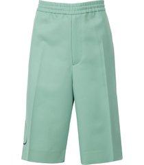 twill vlogo bermuda shorts