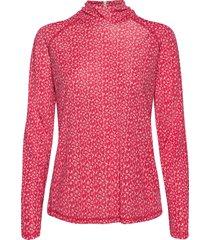 tutka unikko shirt blouse lange mouwen roze marimekko