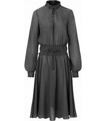 sukienka middleton ciemno szara