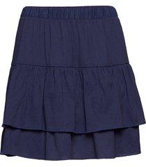 nora kort kjol blå stig p