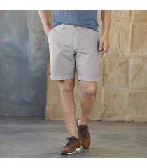 sundance catalog men's wesley shorts in khaki 40