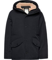 jackets outdoor woven parka jacka svart esprit casual