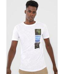 camiseta osklen 3 elements branca - branco - masculino - algodã£o - dafiti