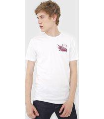 camiseta rvca here lies off-white