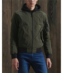 superdry men's military flight bomber jacket