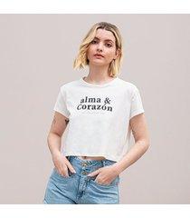 camiseta amplia corta manga corta farfal