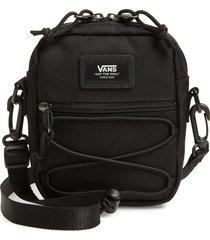 men's vans bail shoulder bag - black