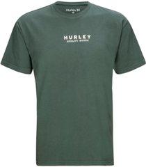hurley men's tsuba premium logo graphic t-shirt