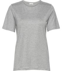 amatta t-shirts & tops short-sleeved grå by malene birger