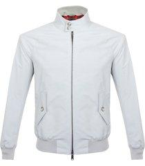 baracuta g9 classic mcqueen's stone grey harrington jacket brcps0147