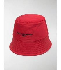 stella mccartney logo-embroidered bucket hat