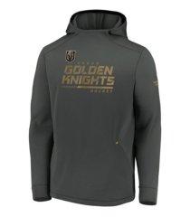 majestic vegas golden knights men's locker room rink hoodie