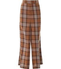 a.w.a.k.e. mode checkered pant skirt