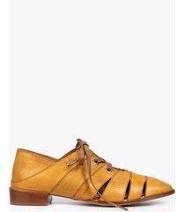 zapatos cordón de cuero derby cortes
