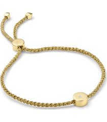 gold linear solo friendship diamond bracelet diamond
