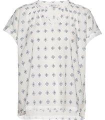 ederna blouses short-sleeved blå masai