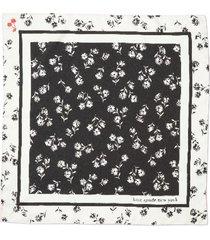 women's kate spade new york dandelion floral silk bandana scarf