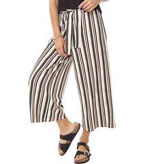 pantalón culotte lazo i mujer rayas corona