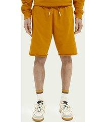 scotch & soda classic organic cotton felpa shorts