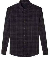 camisa john john alan algodão xadrez masculina (xadrez, gg)
