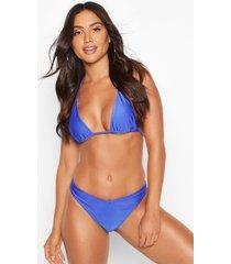 mix & match brazilian v front bikini brief, blue