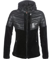 fleece jack superdry storm panel hybrid