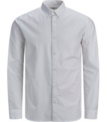jack & jones overhemd 12169911 white - wit