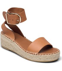 espadrilles 2676 sandaletter expadrilles låga brun billi bi