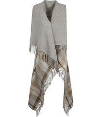 fabiana filippi fringe edge scarf detail top
