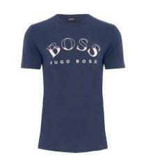 t-shirt masculina tee - azul