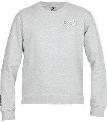 mcq alexander mcqueen icon zero: cotton sweatshirt