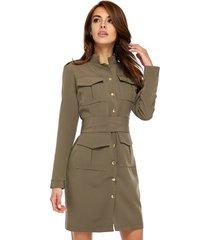 sukienka military