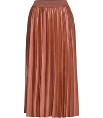 vinitban skirt/su - knälång kjol brun vila