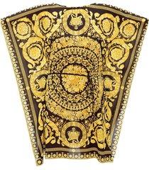 barocco print dress