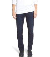 men's paige transcend - lennox slim fit jeans, size 34 - blue