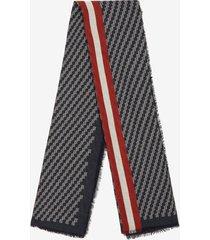 striped scarf multicolor 1