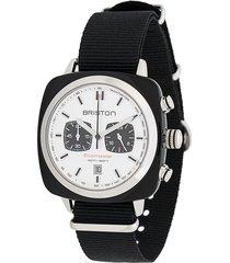 briston watches clubmaster sport watch - white