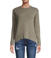 the cashmere project women's crewneck cashmere sweater - crow - size xs