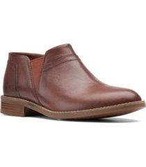 clarks collection women's camzin mix ankle boots women's shoes